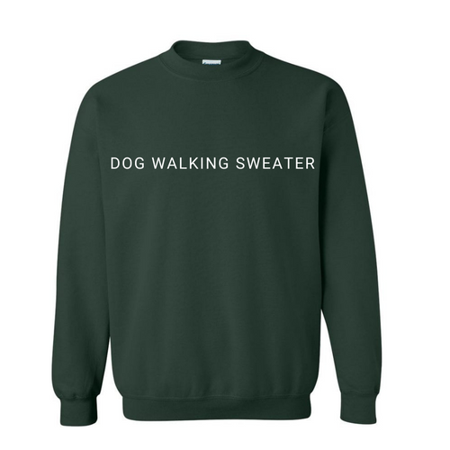 Dog Walking Sweater - Unisex