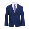 LIEF HORSENS BOYS BLUE SLIM FIT SUIT
