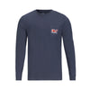 VINEYARD VINES FOOTBALL WHALE LONG SLEEVE POCKET TEE