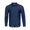 VINEYARD VINES SLIM FIT INDIGO DOUBLE LAYER SHIRT