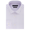 TOMMY HILFIGER ATHLETIC FIT PINK/BLUE PLAID DRESS SHIRT