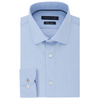 TOMMY HILFIGER SLIM FIT BLUE DOBBY DRESS SHIRT