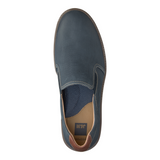 JOHNSTON & MURPHY MCGUFFEY NAVY PERF SLIP-ON