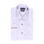 STANTT WRINKLE RESISTANT LAVENDER GRID CHECK FRENCH CUFF DRESS SHIRT