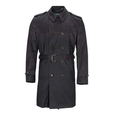 RALPH LAUREN DOUBLE BREASTED TRENCH COAT