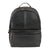 BOCONI BLACK LEATHER BACKPACK