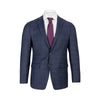 CALVIN KLEIN BLUE WINDOWPANE SLIM FIT SUIT
