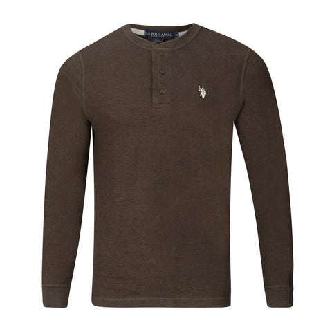 U.S. POLO ASSN THERMAL HENLEY (more colors)