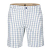 DOCKERS ORIGINAL PLAID FLAT FRONT SHORT
