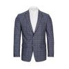 CALVIN KLEIN BLUE PLAID SLIM FIT SPORTCOAT