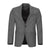 CALVIN KLEIN WOOL GREY CHECK SPORTCOAT