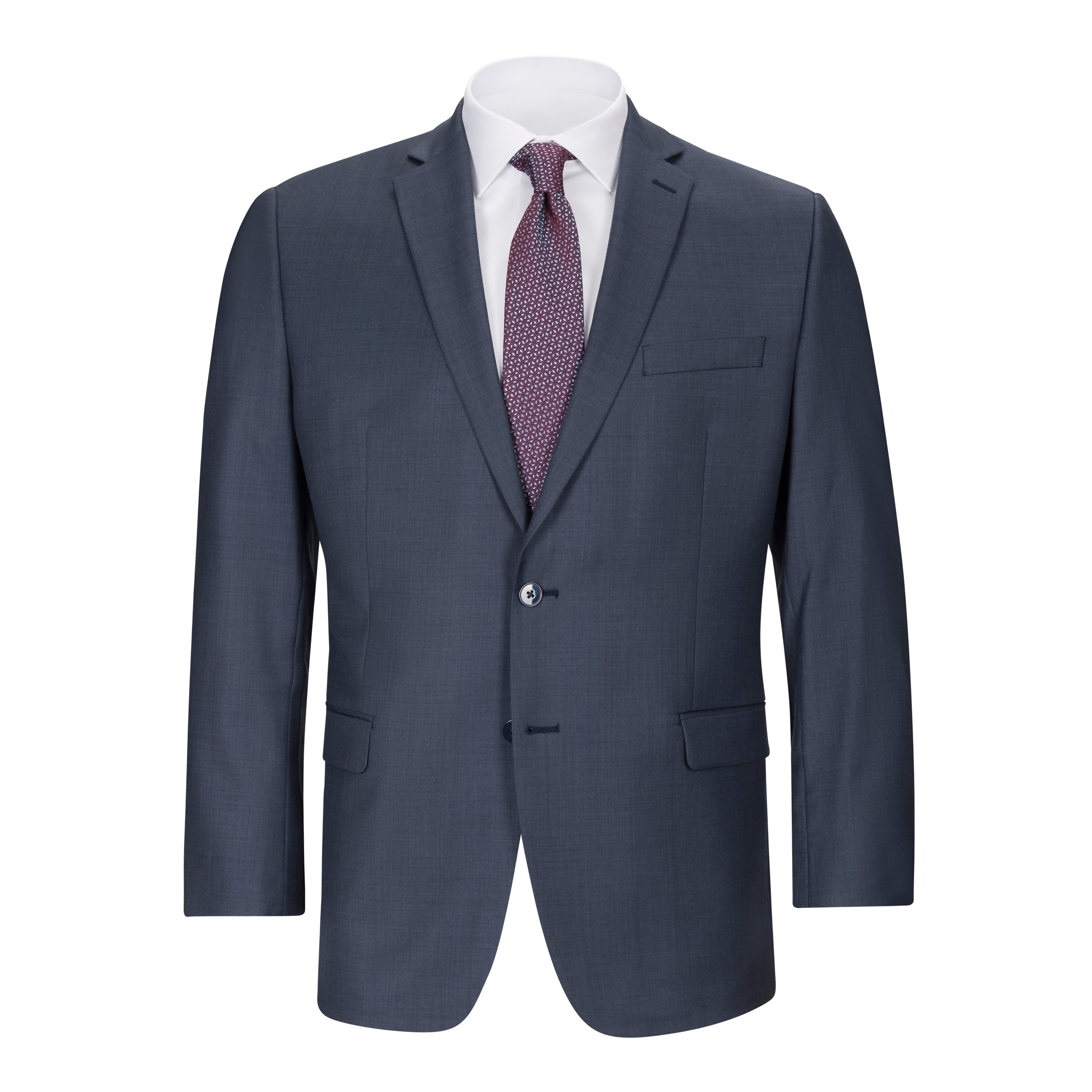 52e8272484dc6 CALVIN KLEIN BLUE SUIT SEPARATES JACKET. Hover to zoom