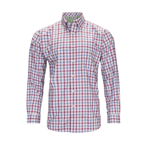 FORSYTH OF CANADA NON-IRON CHECK SHIRT
