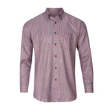 FORSYTH OF CANADA NON-IRON JASPE TWILL CHECK SHIRT