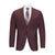 TIGLIO MODERN FIT BURGUNDY SUIT