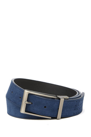 BOCONI REVERSIBLE SUEDE TO SMOOTH LEATHER BELT (more colors)