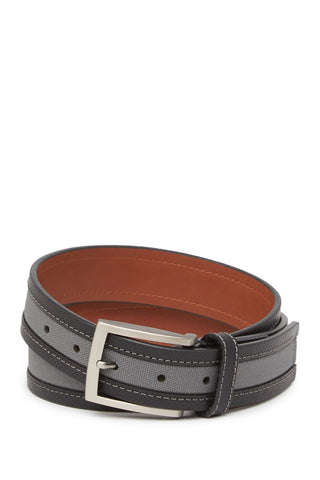 BOCONI STITCHED LEATHER AND CANVAS BELT (more colors)
