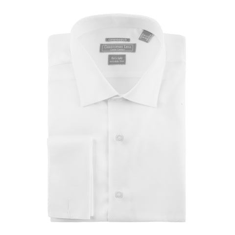 CHRISTOPHER LENA CONTEMPORARY FIT TUXEDO SHIRT