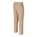LAUREN RALPH LAUREN FLAT FRONT REGULAR FIT TAN DRESS PANTS