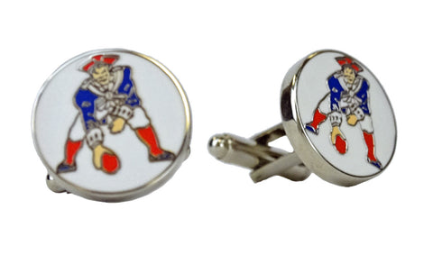 VINTAGE NEW ENGLAND PATRIOTS CUFFLINKS
