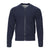 SCHOTT FULL ZIP TEXTURED SWEATER JACKET