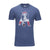 47 BRAND BLUE PATRIOTS T-SHIRT
