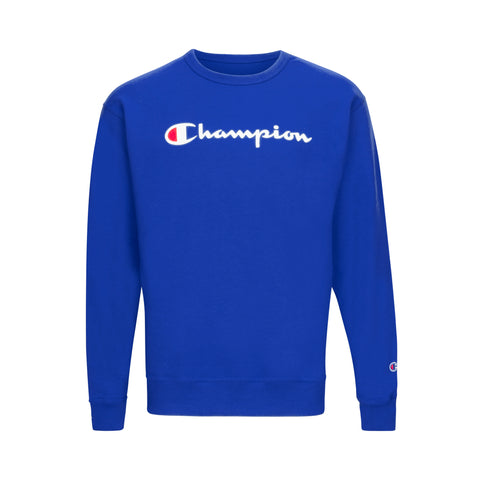 CHAMPION POWER BLEND FLEECE SCRIPT LOGO SWEATSHIRT (more colors)