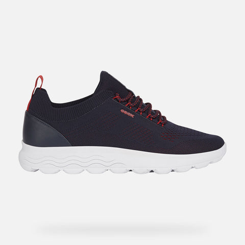 GEOX SPHERICA KNIT NAVY SNEAKER