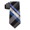 KENNETH COLE REACTION BLACK PLAID TIE