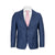 MICHAEL KORS BLUE WINDOWPANE SLIM FIT SUIT