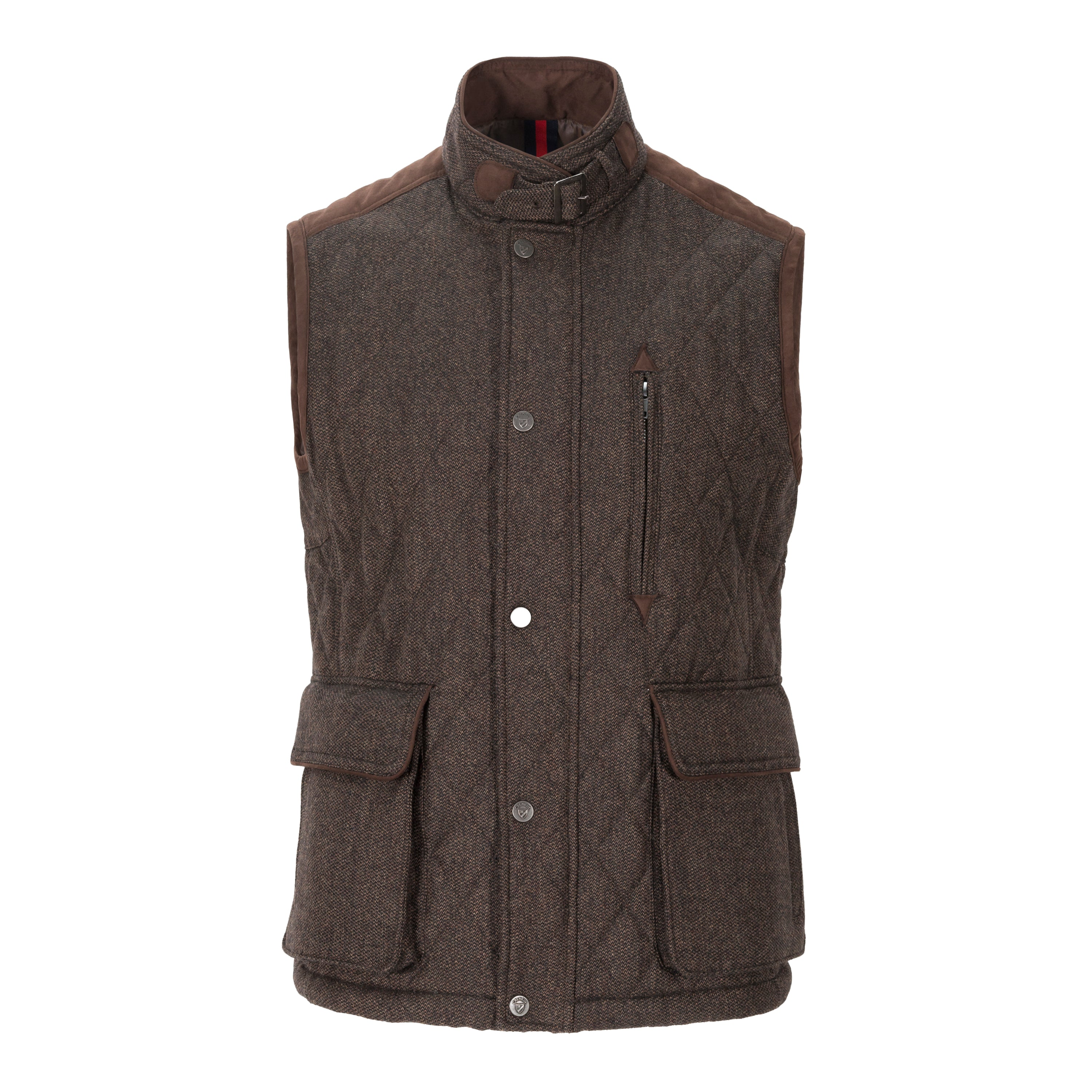 d0d4f41b61 DANIEL CREMIEUX QUILTED WOOL VEST – Miltons - The Store for Men