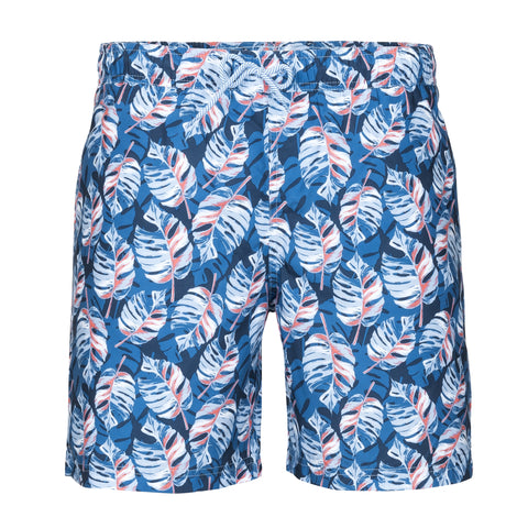 TAILORBYRD LEAF PRINT SWIM TRUNK