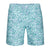 TAILORBYRD TEAL KALEIDOSCOPE SWIM TRUNK