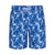 TAILORBYRD BLUE FLORAL SWIM TRUNK