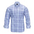TAILORBYRD BLUE PLAID SHIRT