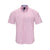 TAILORBYRD SHORT SLEEVE BUTTON DOWN PINK TONAL PRINT SPORT SHIRT