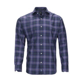 TAILORBYRD NAVY PLAID SHIRT