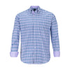 TAILORBYRD PURPLE CHECK SHIRT