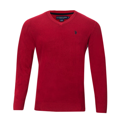 U.S. POLO ASSOC. V-NECK SWEATER (more colors)