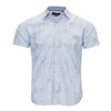 MICHAEL BRANDON PALM PRINT SHIRT