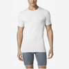 TOMMY JOHN SECOND SKIN CREW NECK STAY-TUCKED WHITE UNDERSHIRT