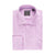 PROPER COTTON WRINKLE-FREE COTTON PURPLE CHECK DRESS SHIRT