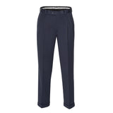 PERRY ELLIS PORTFOLIO REGULAR FIT PLEATED NON-IRON PANT