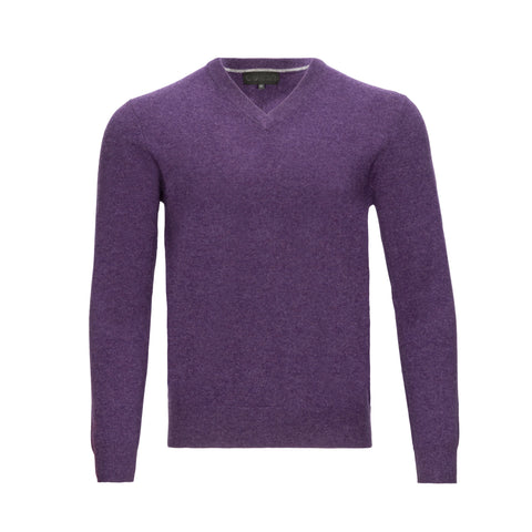 QUINN CASHMERE V-NECK SWEATER (more colors)