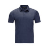 OGGI MODA BY RAFFI AQUA COTTON POLO SHIRT (more colors)
