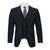 CARAVELLI SLIM FIT MICROFIBER VESTED SUIT (more colors)