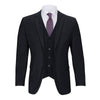 CARAVELLI REGULAR FIT MICROFIBER VESTED SUIT (more colors)
