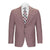 TALLIA ORANGE BERRY SHARKSKIN SUIT