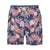 TOMMY BAHAMA NAPLES MIDNIGHT CORAL 6-INCH SWIM TRUNKS