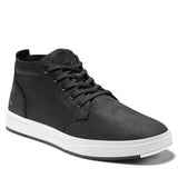 TIMBERLAND DAVIS SQUARE LEATHER CANVAS CHUKKA SNEAKER